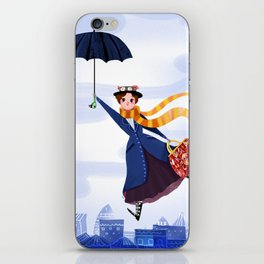 Mary Poppins iPhone Skin