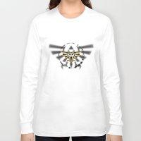triforce Long Sleeve T-shirts featuring Triforce by Otis Zanzibar
