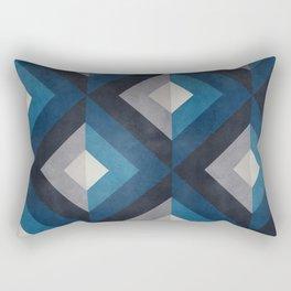 Greece Hues Diamond Rectangular Pillow