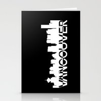vancouver Stationery Cards featuring Vancouver  by Allison Kiloh