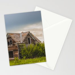 Roadside Homestead, North Dakota 2 Stationery Cards
