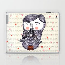 Bearded Lumberjack Man Laptop & iPad Skin