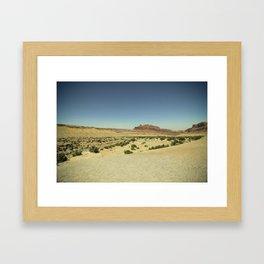 Black Dragon Canyon Framed Art Print