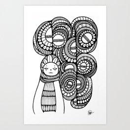 Dreaming//Nightmares Art Print