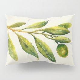 Olive branch Pillow Sham