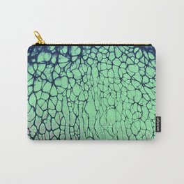 Colorful Daydreaming fluid art acrylic pouring Carry-All Pouch