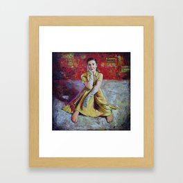 Wistful Longing Framed Art Print