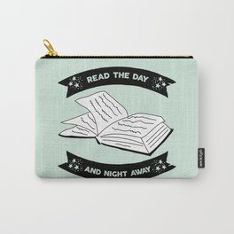 Read the Day and Night Away (Mint) Carry-All Pouch