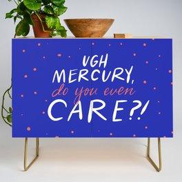 UGH mercury!! Credenza
