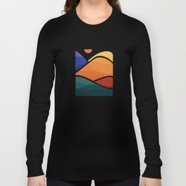 Meditative Mountains Long Sleeve T-shirt