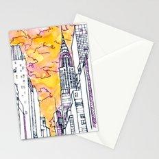 New York Sunset Stationery Cards