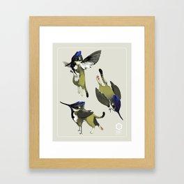 Tiny Griffin Framed Art Print