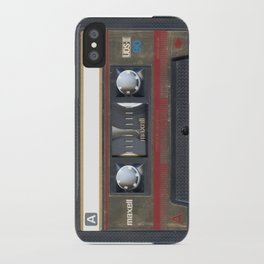 Maxwell Cassette Tape iPhone Case