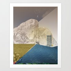 atmosphere 7 · End of the night Art Print