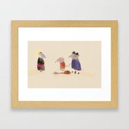 Les Micérables Framed Art Print