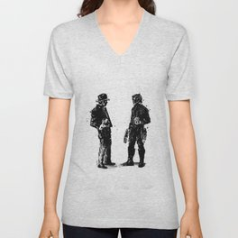 Indy meets the Star-Lord Unisex V-Neck