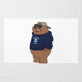 bape bear Rug