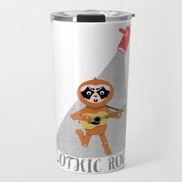 Sloth Goth Travel Mug
