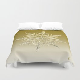 Crystal Snowflake Duvet Cover