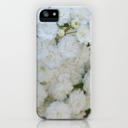 Deutzia Pure and Simple iPhone Case