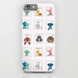 Dogs in the Window iPhone Case