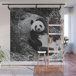 Urban Pop Art Panda Wall Mural