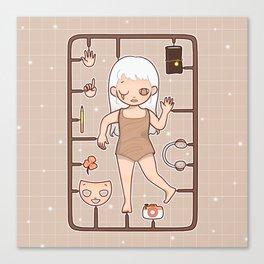 MUOUS Doll Canvas Print