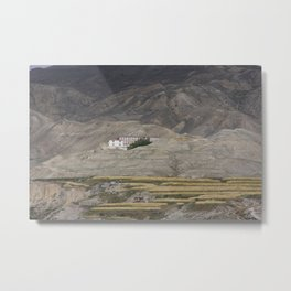 Home in Lo Manthang Metal Print