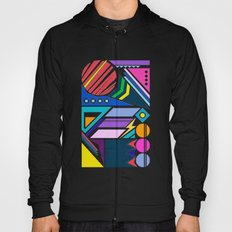 Geo Splash Hoody