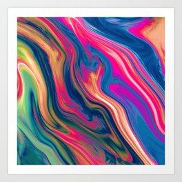 L'eau Art Print