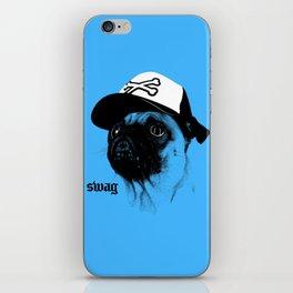 Pug Swag iPhone Skin