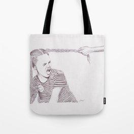 Plaits and Stripes Tote Bag