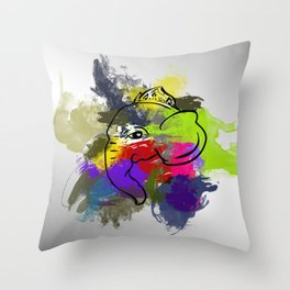 Obstacle Breaker Throw Pillow