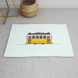 Lisbon 28 Tram Rug