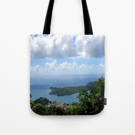 Over the Clouds in St Thomas Tote Bag