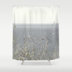 Branches at the sea Shower Curtain
