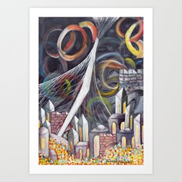 Bridging Heaven and Earth Art Print