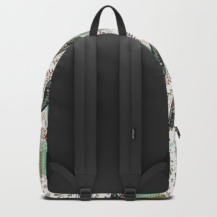 Hamsa Hand – Earth Palette Backpack