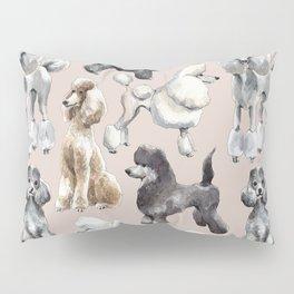 Poodles Pillow Sham