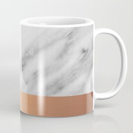 Carrara Italian Marble Holiday Rose Gold Edition Coffee Mug