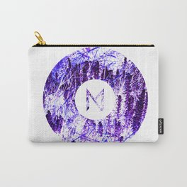 Vinyl abstract Carry-All Pouch