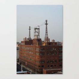 Brick Behemoth Canvas Print