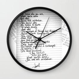 Aware Wall Clock
