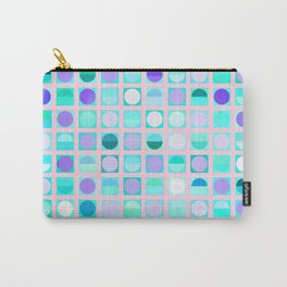 Circles and Squares Carry-All Pouch