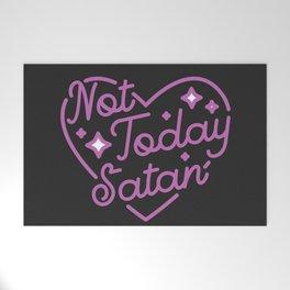 not today satan III Welcome Mat