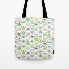 Sewing Quilting Flat Pattern Tote Bag