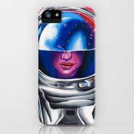 Astrogirl iPhone Case