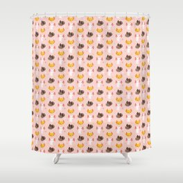 Axolotl Buddies Shower Curtain