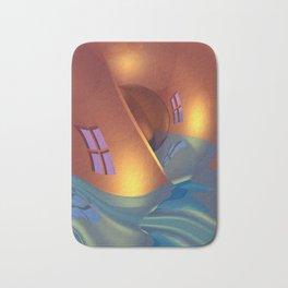 space curvature -1- Bath Mat