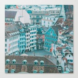 Zurich Views I Canvas Print